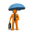 Businessman Umbrella