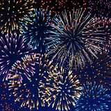 Fototapety Fireworks