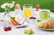 kleine frühstücksauswahl