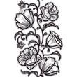 Vertikal Seamless Pattern white Lace