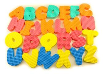 alphabet mousse