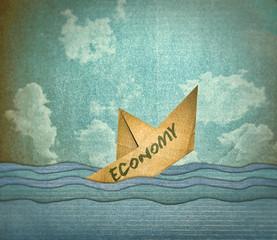 Barquito de papel economia