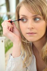 Women make-up tabs