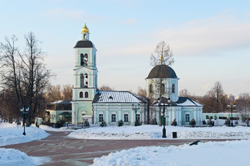 Church of the Life Giving Spring in Tsaritsyno (Moscow, RU)