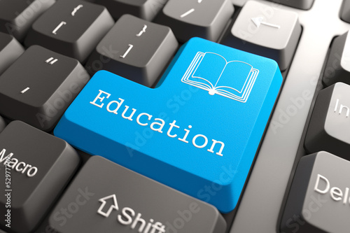 Keyboard with Education Button.