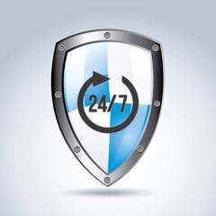 24-7 shield