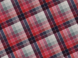 Plaid fabric texture
