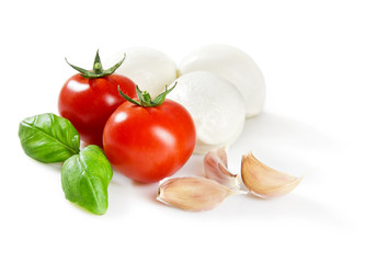 italian food, clipping path included