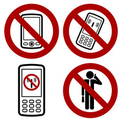 phone forbidden icon