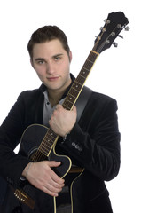 Elvis mit Gitarre