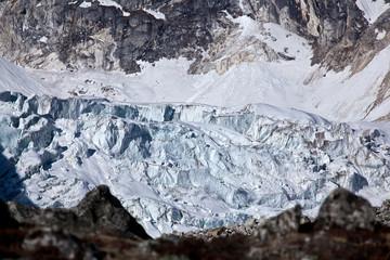 Glacier in Himalayas