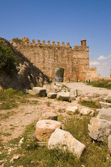 Sagunto, dentro del castillo, España