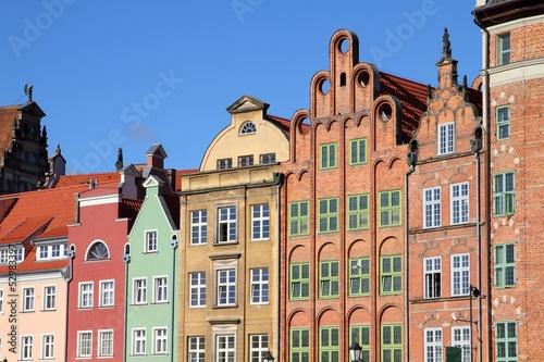 Gdansk, Poland - townhouses