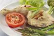 Cuisse de poulet accompagnée de Légumes