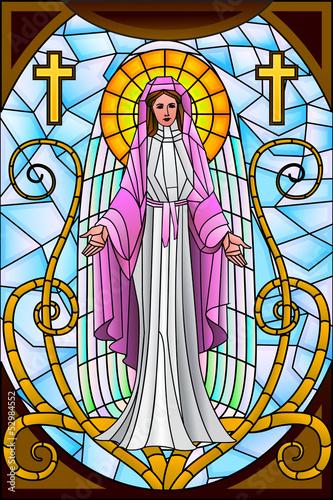 Naklejka Mother Mary