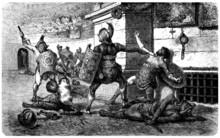 Das alte Rom: Gladiatoren Kampf