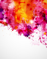 Abstract artistic Background of bright colors