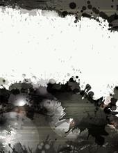 Grunge background avec des éclaboussures et des taches noires