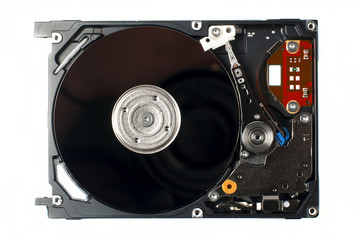 Hard Drive close up photo