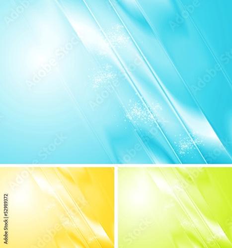 Bright shiny vector design