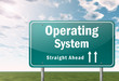 "Highway Signpost ""Operating System"""