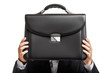 Businessman hand holding briefcase