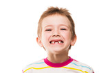 First baby milk or temporary teeth fall out poster