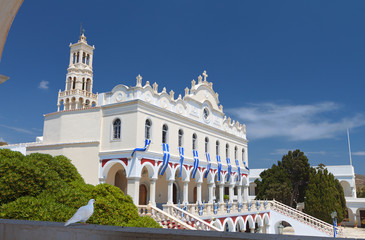 Church of the Madonna at Tinos island in Greece