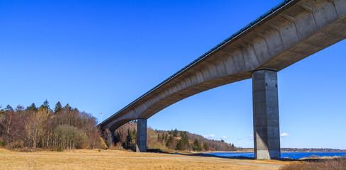 Bridge over Limfjorden in Denmark