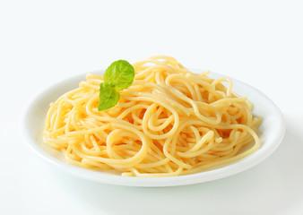 Boiled spaghetti