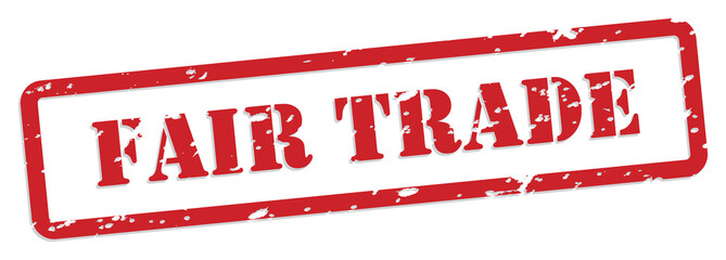 Fair Trade Rubber Stamp