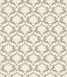 Seamless damask vector wallpaper