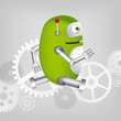 Green Robot