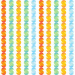 Abstract colorful striped pattern