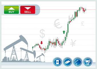trading background