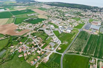 Photo aérienne de Jard-sur-Mer Vendée