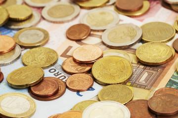 Geld, Nahaufnahme, 50 Cent