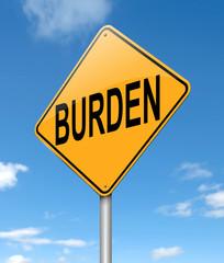 Burden concept.