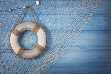 Life buoy decoration