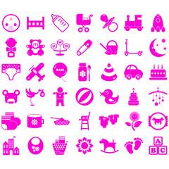 baby icon logo