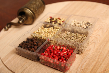 Spices and Mill