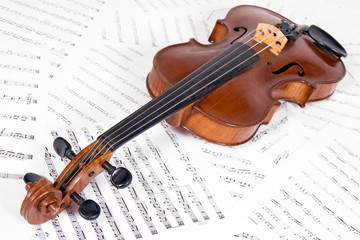 viola in the note record.