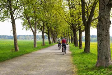 Fahrradtour im Frühling