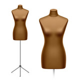 Female tailor's dummy, mannequin