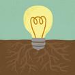 Idea Tree  , eps10 vector format