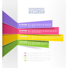 Creative info graphic template