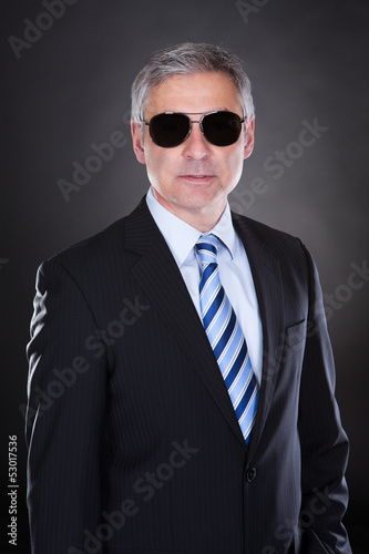 Portrait Of Male Body Guard