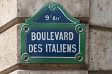 boulevard des italiens poster