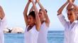 Yoga meditation class