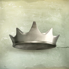 Silver crown, old style